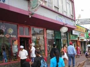 """Tourist Street"" Ensenada, down the street from the best roasted chicken restaurant on the planet, Las Brasas"