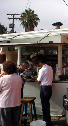 El Fenix fish taco stand! Oh, yeah!