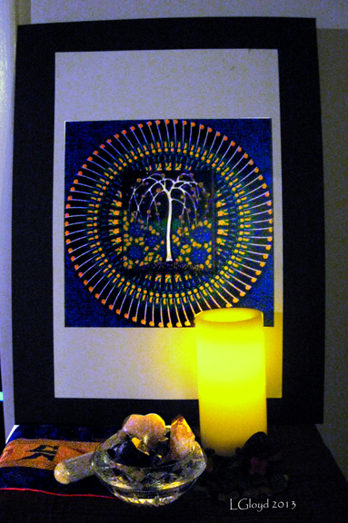 Tree of Life and Candles small