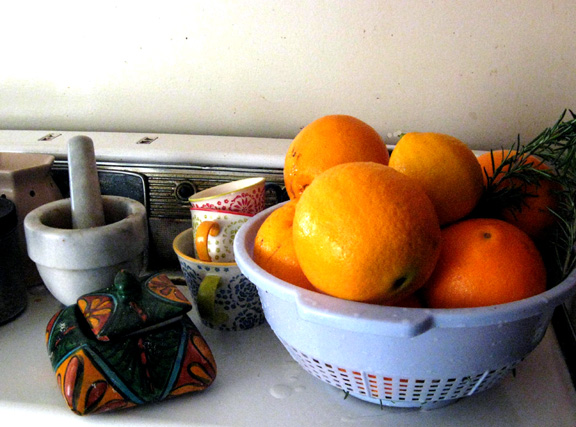 oranges and rosemary small