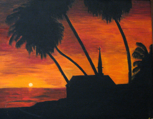 sunset painting late teens 2