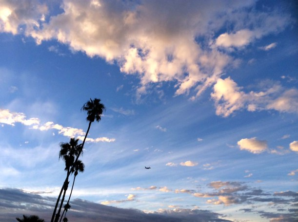 Sunrise at Playa del Rey late October